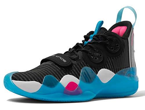 LI-NING Wow 8 'TeamNoSleep' Wade Herren Professionelle Basketballschuhe Boom Technology Sportschuhe Sneaker, Schwarz (Teamnosleep), 39 EU