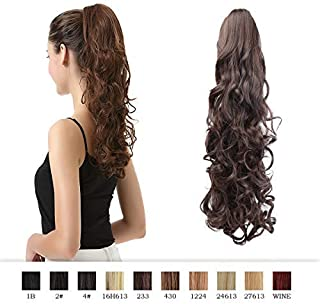 Best clip in hair extensions ponytail Reviews