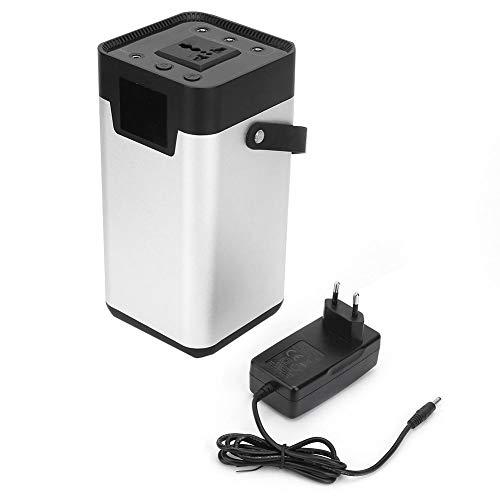 200W 52500mAh 100-240V Generador Solar Portátil Almacenamiento de Energía Fuente de Alimentación Móvil Fuente de Alimentación de Respaldo al Aire Libre(EU Plug)