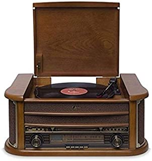 Vitrola com CD, K7, FM, USB e Bluetooth, Bivolt, Raveo, Ópera BT, 10
