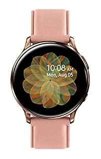 Samsung Galaxy Watch Active 2 (40mm, GPS, Bluetooth, Unlocked LTE) Smart Watch with Advanced Health monitoring, Fitness Tracking , and Long lasting Battery, Pink Gold - (US Version) (B07YXS9WZ4) | Amazon price tracker / tracking, Amazon price history charts, Amazon price watches, Amazon price drop alerts