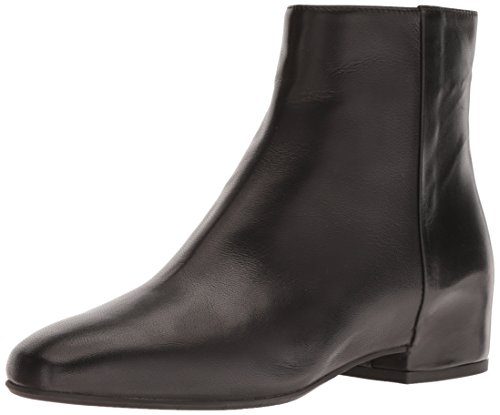 Aquatalia Women's ULYSSAA Calf Ankle Boot, Black, 7.5 M US