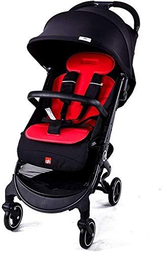 Baby kinderwagen kinderwagens voor baby's draagbare lichtgewicht reiswagen met 5-punts veiligheid harnas aanpasbare achterbank gemakkelijk een hand vouwen Compact vliegtuig Pushchair B
