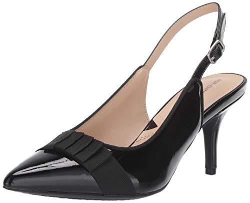 ADRIENNE VITTADINI Footwear Women's Shandy Pump, Black-cp, 7.5 Medium US