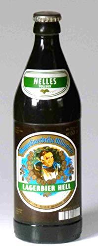 Bierkerze, Augustiner Hell 0,5 l - 2001 - Bayerische Bier Geschenke - Das perfekte Bier Geschenk für Bierfreunde, Bierliebhaber und Bierfans. Bier Geschenke lustig. candele di birra – beer candles