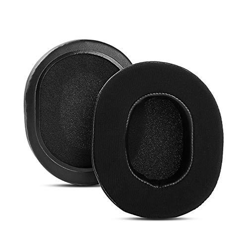 Almohadillas de repuesto para auriculares SteelSeries Arctis 1 Arctis 3 Arctis 5 Arctis 7 Arctis Pro Arctis 9X para juegos (negro negro con gel infusión)
