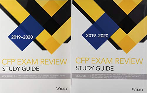 Wiley Study Guide for 2019-2020 CFP Exam: Complete Set