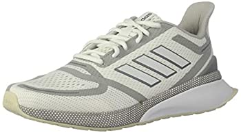 adidas Men s Nova Running Shoe White/White/Grey 9 M US