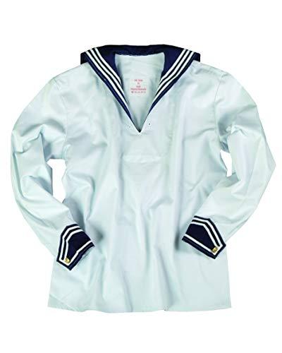 BW Marinehemd weiß mit Marinekragen 46