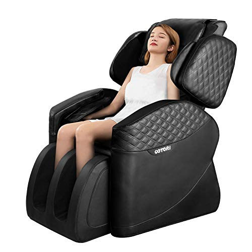 OOTORI Full Body Electric Massage Chair, Zero Gravity Neck Back Legs and Foot Shiatsu Massager with Heat and Foot Rollers...