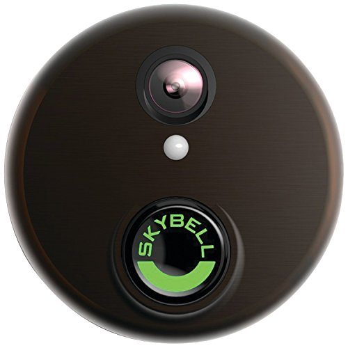 SkyBell SH02300BZ HD WiFi Video Doorbell, Bronze