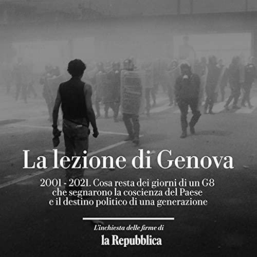 La lezione di Genova copertina