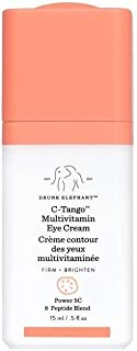 Drunk Elephant C-Tango Multivitamin Eye Cream. Brightening and Restorative Under Eye Cream with Vitamin C (15 ml / .5 fl oz)