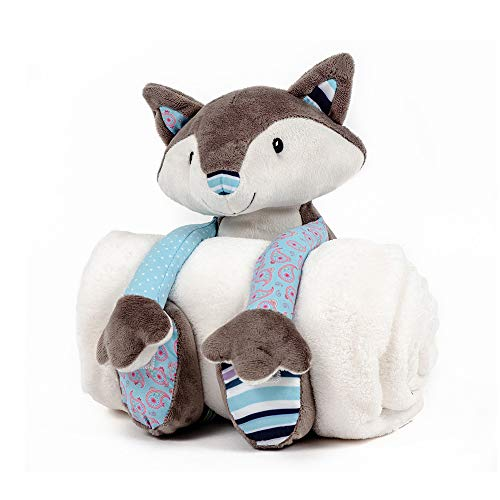 Nuby Little Fox Couverture et peluche