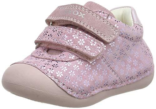Geox Tutim Baby, Zapatos de Bebé para Niñas, Rosa (Rose C8011), 22 EU
