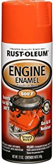 Rust-Oleum 248941 Automotive 12-Ounce 500 Degree Engine Enamel Spray Paint, Chevy Orange by Rust-Oleum