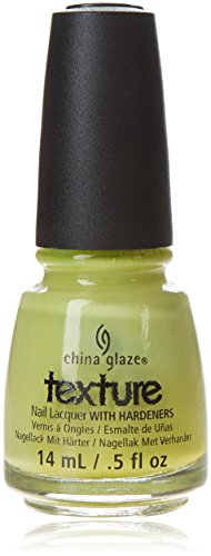 China Glaze Nail Lacquer with Hardner - Collection Texture - In The Rough, 1 x 14 ml