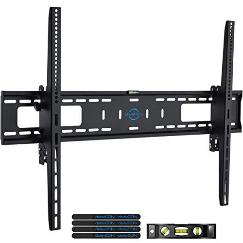 deleyCON Soporte de Pared Universal para TV 60'-100' Pulgadas (152-254cm) Inclinable 75Kg & VESA 900x600 Plasma LCD LED OLED TFT Curved