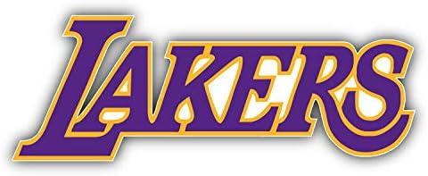 valstick Los Angels Import Lakers NBA Sticke Logo Save money Car Bumper Basketball