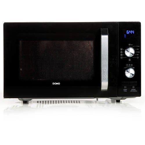 Domo DO2924 Comptoir - Micro-ondes (Comptoir, Micro-ondes uniquement, 23 L, 800 W, boutons, Rotatif, Noir)