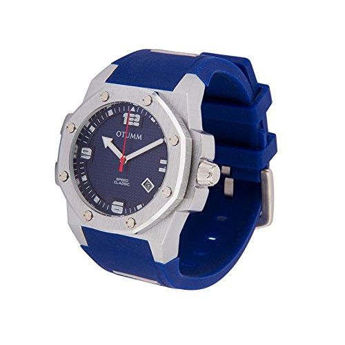 Otumm Classic Speed CLST41004 41mm Edelstahl Blau Armband Unisex Uhr