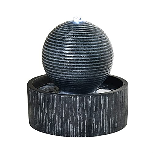 Indoor Water Fountain Tabletop Fountain Relaxation Desktop Fountain - Small Size Makes This A Perfect Tabletop Decoration - Simple circulating water fountain Indoor Waterfall Fountain