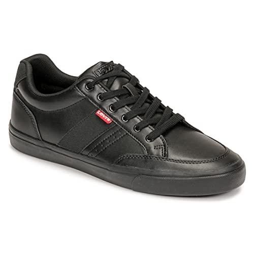 Levi's Turner 2.0, Zapatillas Deportivas Hombre, Full Black, 46 EU
