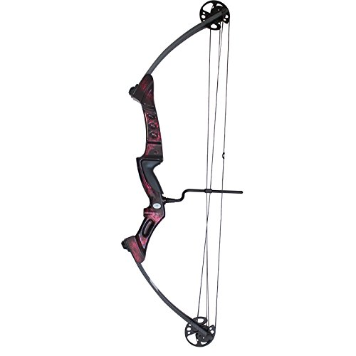 Southland Archery Supply SAS Primal 35-50 lbs Target Compound Bow 40 1/2 ATA with Red Riser and Carbon Limbs (Blue with Accessories)