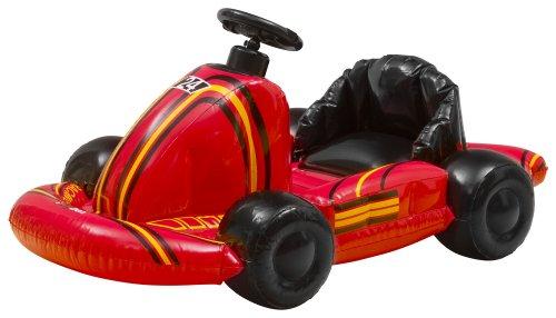 Wii - Let's Kart Aufblasbares Kart-Auto, rot