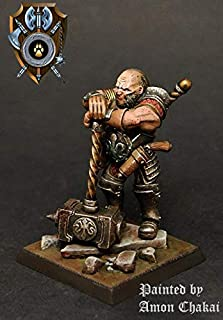 Shieldwolf Miniatures: Talliareum Ogre Halfbreed Champion (1x Multi-Part Resin 28mm Scale Figure) Warhammer 40k, Age of Sigmar, The 9th Age, Kings of War