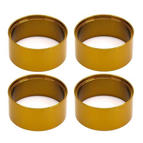 Nrpfell Metal 2.2 Beadlock Llanta de Rueda de Anillo Contrapeso Interno Contrapeso para Axial SCX10 90046 AXI03007 Trx4,4P