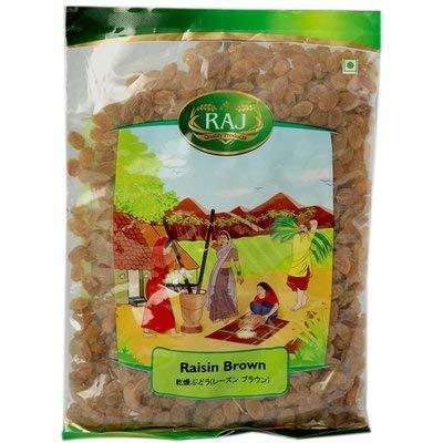 アンビカトレーディング インド食材 乾燥ぶどう (レーズンブラウン) 500g (ドライフルーツ) Raisin Brown
