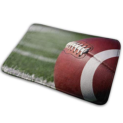 BLSYP Felpudo Rugby American Football Ball Doormat