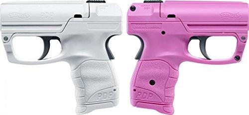 Walther Pfefferspray Pistole Reizstoffsprühgerät Tierabwehrgerät, Praktische Selbstverteidigung in modernem Design verfügbar (Pink)
