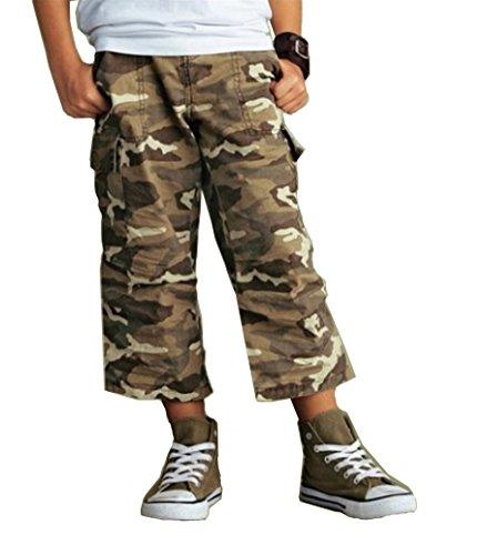 Arizona Bermuda Bundeswehr Hosen Skaterhose Cargohose Tarnfarbe für Teens 182 kinderhosen für Jungs