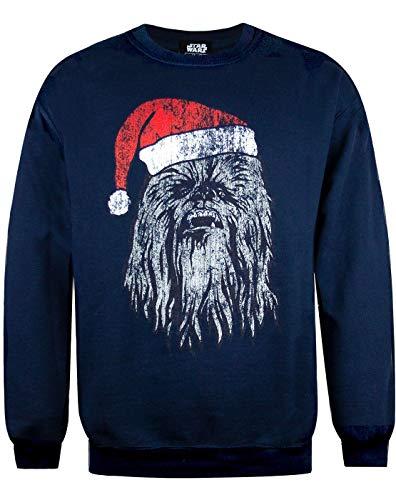 Vanilla Underground Star Wars Chewbacca Hombres de Saltador de Navidad Armada