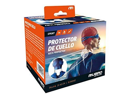 Mugiro Protector de Cuello Trajes de Neopreno - Naranja - Talla L 35-40 cm