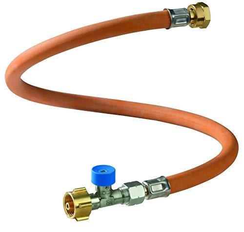 GOK Hochdruckgasschlauch 45 cm/G. 12 mit Schlauchbruchsicherung für DE; A