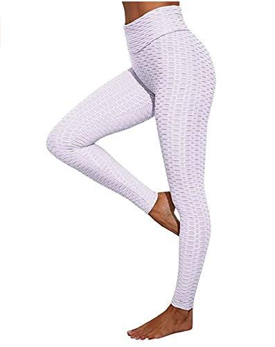 CrisKat Conjunto Deportivo, Leggings Deportivo y Tops de Mujer Cintura Alta Leggings para Running Fitness Yoga Leggings