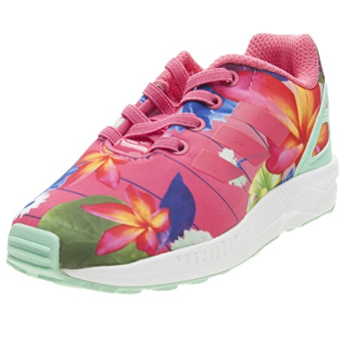 adidas Unisex-Kinder ZX Flux Fitnessschuhe, Pink (Rosrea/Rosrea/Ftwbla 000), 26 EU