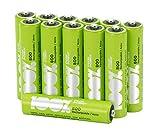 Pile Ricaricabili AAA - Confezione da 12 Batterie Ministilo Ricaricabili - PeakPower - NiM...