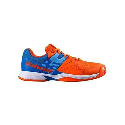 Babolat 4073-1, Chaussures de Tennis pour garçon Multicolore 36 EU