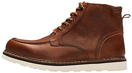 find. Leather Apron Botas Chukka, Marrón Tan, 40 EU