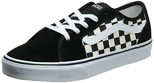 Vans Damen Filmore Decon Sneaker, Checkerboard Black White, 39 EU