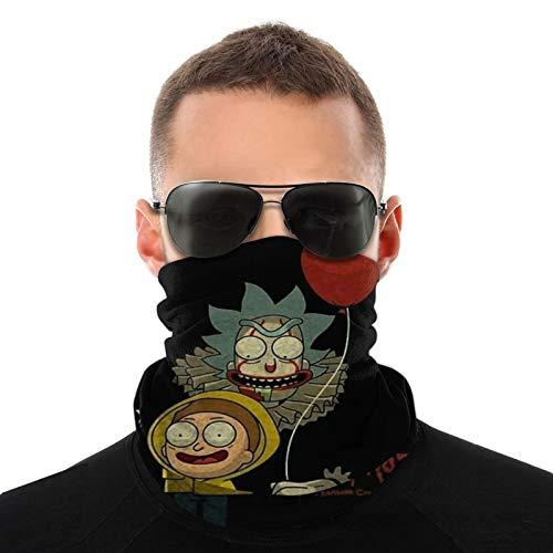Rick And Morty Diademas Multifuncional Bandana ancha sin costuras mágica bufanda tubo bufanda UV insecto escudo deporte hombres mujeres unisex
