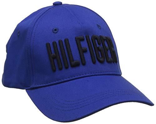 Tommy Hilfiger Herren Hilfiger Print Baseball Cap, Blau (Surf The Web 435), One Size (Herstellergröße: OS)