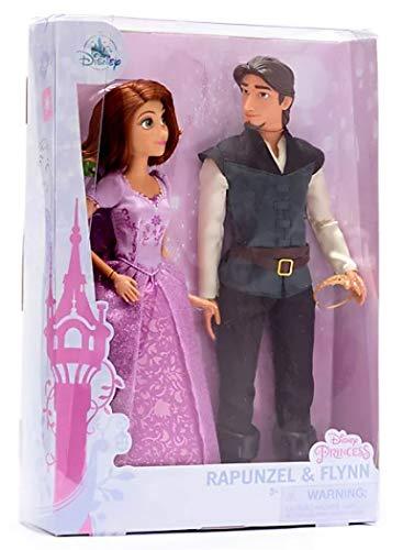 DS Set Bambole SNODABILI Rapunzel con Pascal E Flynn - Disney Store