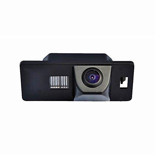 Vista posteriore luce targa telecamera per auto Macchina Fotografica di Retrovisione di HD d'inversione di Sostegno Telecamera posteriore per Audi A3 A4(B6/B7/B8) Q5 Q7 A8 S8