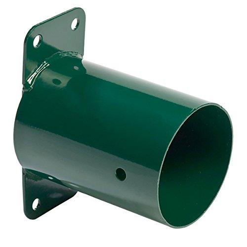 Gartenwelt Riegelsberger connecteur pour balanciers en acier laqués Wandverbinder 100 mm vert