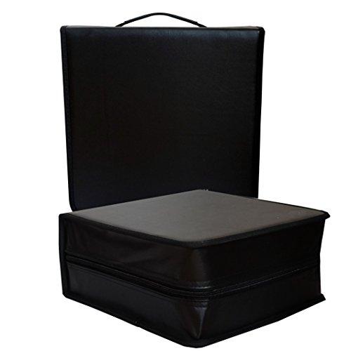 400er CD Tasche Mappe für 400 CDs/DVD/Bluray Discs Organizer Wallet Aufbewahrung Box Ordner